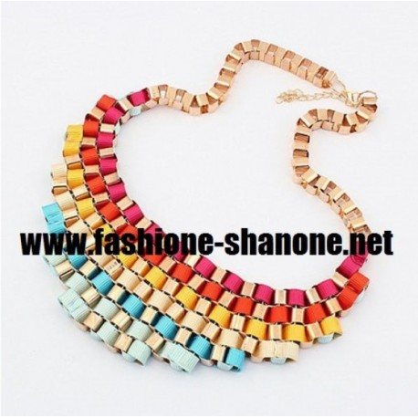 Flashy - Collier multicolore