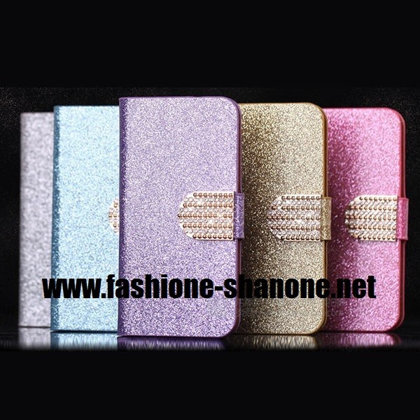coque iphone 5c refermable a paillette