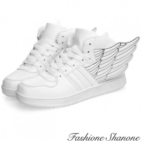 Baskets ailes d'ange