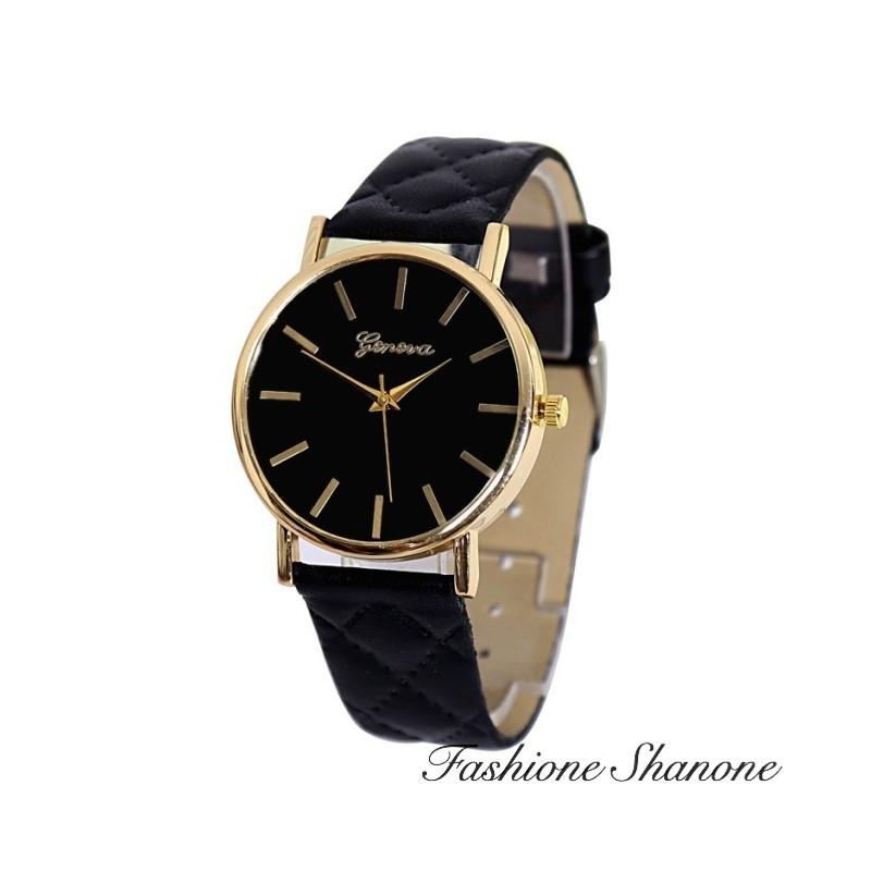 Fashione Shanone - Quilted bracelet watch