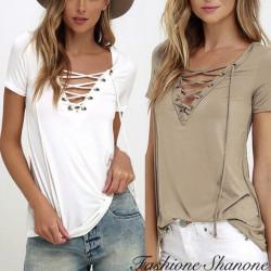 Fashione Shanone - T-shirt à lacet