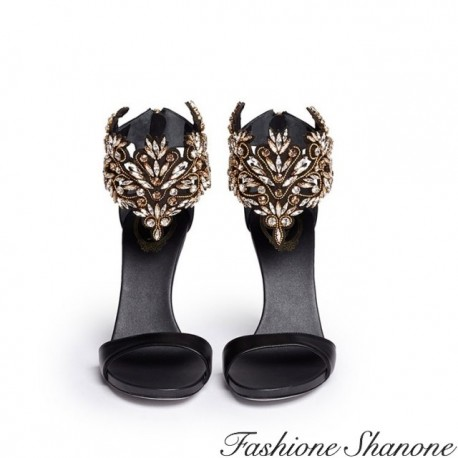 Fashione Shanone - High heels sandals with diamond ankle
