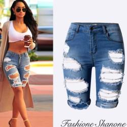 Fashione Shanone - Short en jean déchiré