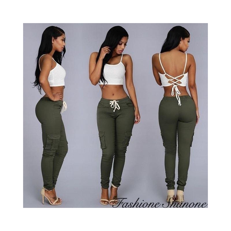 Fashione Shanone - Casual pocket trousers