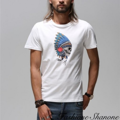 Fashione Shanone - Indian skull T-shirt