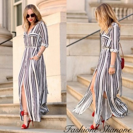 Fashione Shanone - Long shirt dress