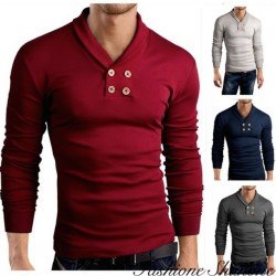 Fashione Shanone - T-shirt manches longues double boutonnage