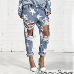 Fashione Shanone - Jean étoile déchiré