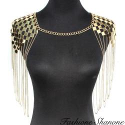 Fashione Shanone - Collier épaulette avec chaînes