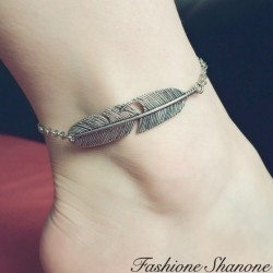 Fashione Shanone - Feather anklet