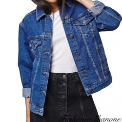 Fashione Shanone - Veste en jean basique