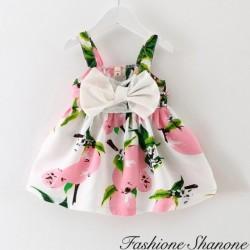 Fashione Shanone - Robe fleurie avec noeud