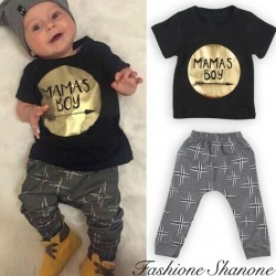 Fashione Shanone - Ensemble T-shirt mama's boy et pantalon