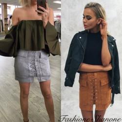 Fashione Shanone - Jupe lacée et poche