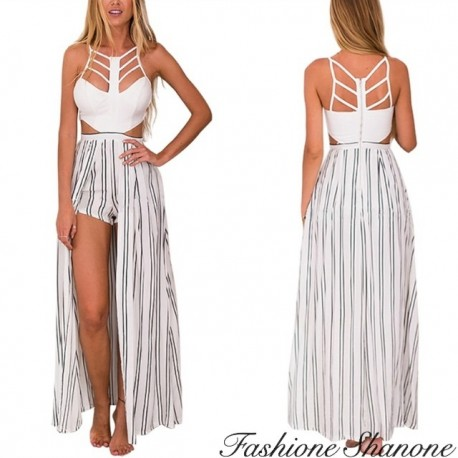 Fashione Shanone - Cape shorts romper