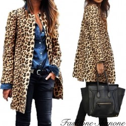 Fashione Shanone - Leopard coat
