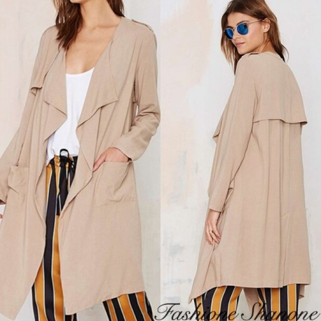 "Fashione Shanone - Effect ""loose"" trench"