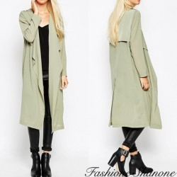 Fashione Shanone - Khaki loose effect trench