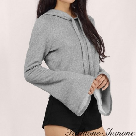 Fashione Shanone - Flared sleeves sweatshirt