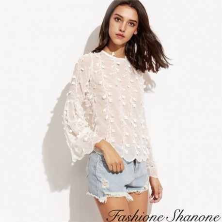Fashione Shanone - Floral blouse