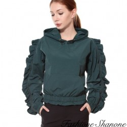 Fashione Shanone - Sweat à capuche manches bouffantes
