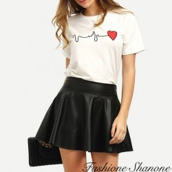 Fashione Shanone - T-shirt battements de coeur