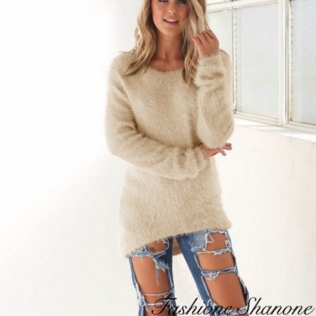 Fashione Shanone - Beige sweater