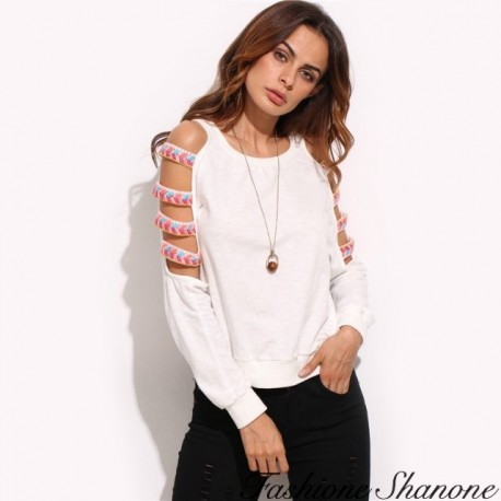 Fashione Shanone - Shoulder off sweatshirt