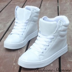 Different colors high sneakers