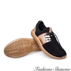 Fashione Shanone - Baskets noires et miroir