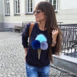 Fashione Shanone - Sweat cornet de glace