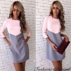 Fashione Shanone - Robe bicolore