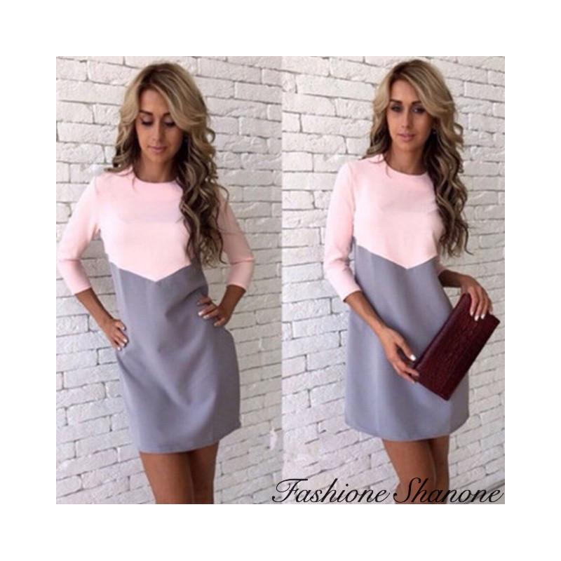 Fashione Shanone - Two-tone dress