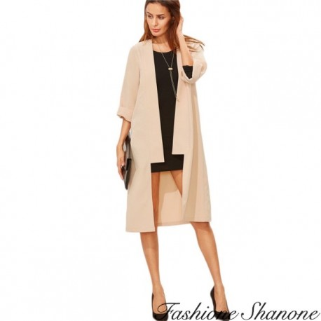 Fashione Shanone - 3/4 sleeves trench