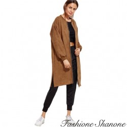 Fashione Shanone - Casual camel coat