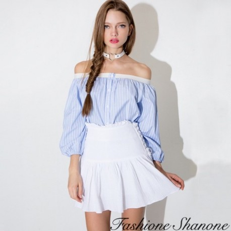 Fashione Shanone - Blouse with uncovered shoulders