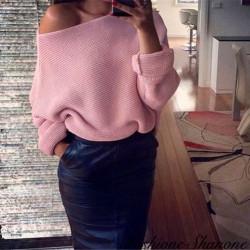 Fashione Shanone - Pull épaule découverte