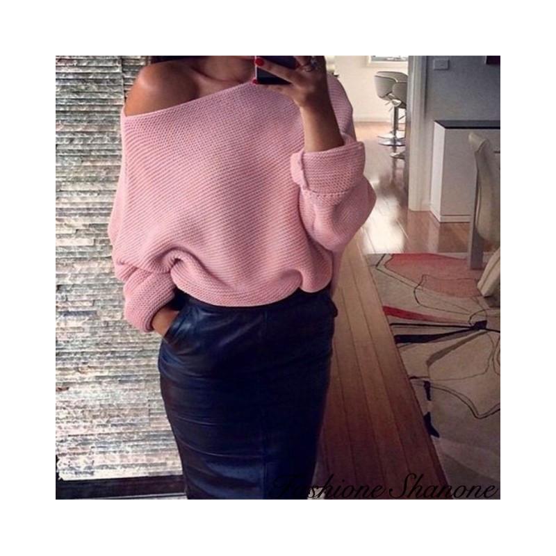Fashione Shanone - Off shoulder sweater
