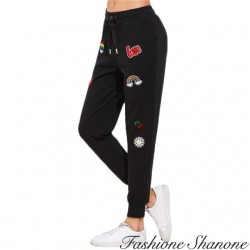 Pantalon de jogging avec patch