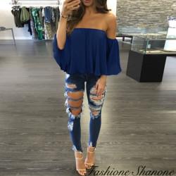 Fashione Shanone - Bardot neckline blouse