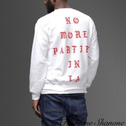 Fashione Shanone - Sweatshirt NO MORE PARTIES IN LA