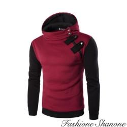 Fashione Shanone - Sweatshirt bicolore à capuche