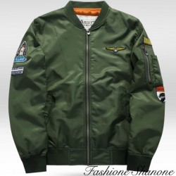 Fashione Shanone - Thick bomber with patch