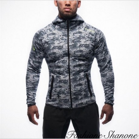 Fashione Shanone - Military jogging jacket