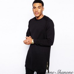 Fashione Shanone - Long sweatshirt with zipper