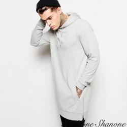 Fashione Shanone - Long hooded sweatshirt
