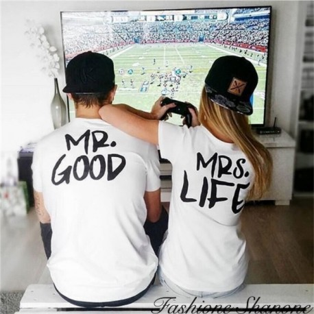 Fashione Shanone - MR. GOOD couple T-shirt