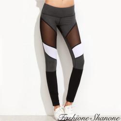 Fashione Shanone - Pantalon de sport avec morceau transparent