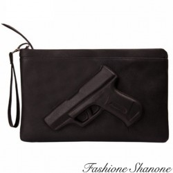Fashione Shanone - 3D gun clutch bag