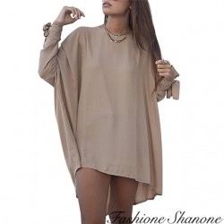 Fashione Shanone - Robe beige large